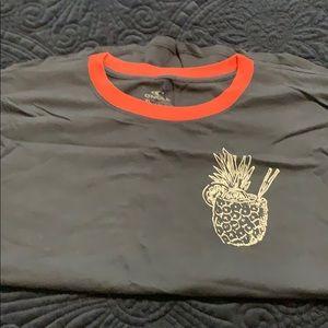 O'Neill T-shirt.